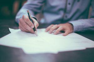 firma contratto per apertura conto